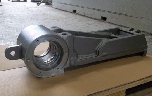 Aquajet services crusher jaw weldment
