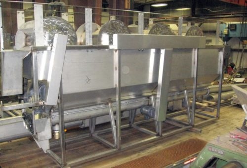 Aquajet services stainless steel wash station fabrication