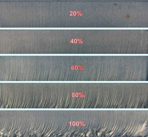 Waterjet Cut Quality Comparison