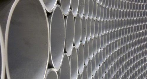 Tube Sculpture - Artist Emil Lukas