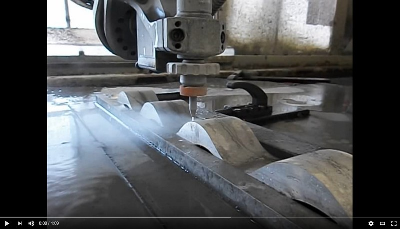 Waterjet-5 axis cutting