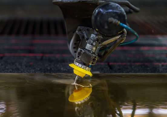 Waterjet cutting